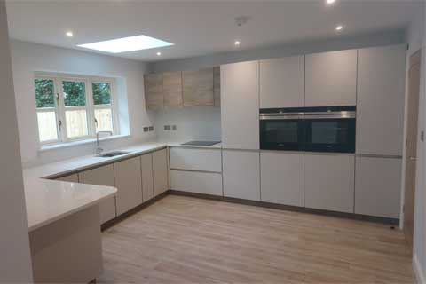 Large Kitchen in House