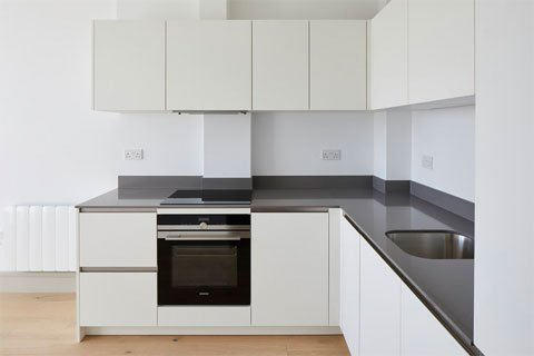 One Bedroom Flat Kitchen